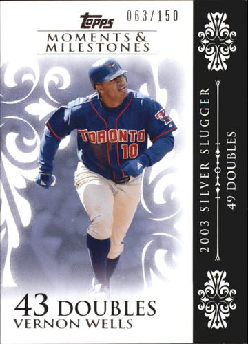 Photo of 2008 Topps Moments and Milestones #75-43 Vernon Wells