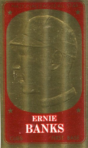 Photo of 1965 Topps Embossed #58 Ernie Banks