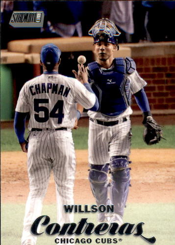 Photo of 2017 Stadium Club #36 Willson Contreras