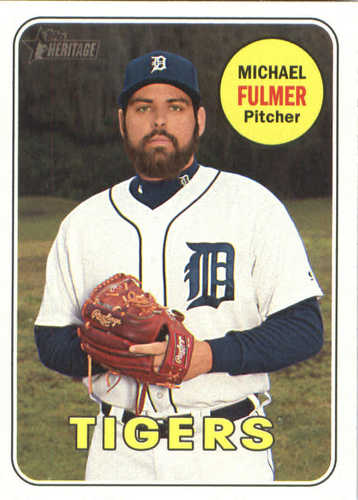 Photo of 2018 Topps Heritage #382 Michael Fulmer