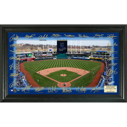 Photo of Serial #1! Kansas City Royals 2018 Signature Field