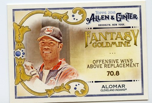 Photo of 2018 Topps Allen and Ginter Fantasy Goldmine #FG31 Roberto Alomar