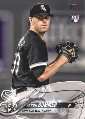 Photo of 2018 Topps #495 Aaron Bummer RC