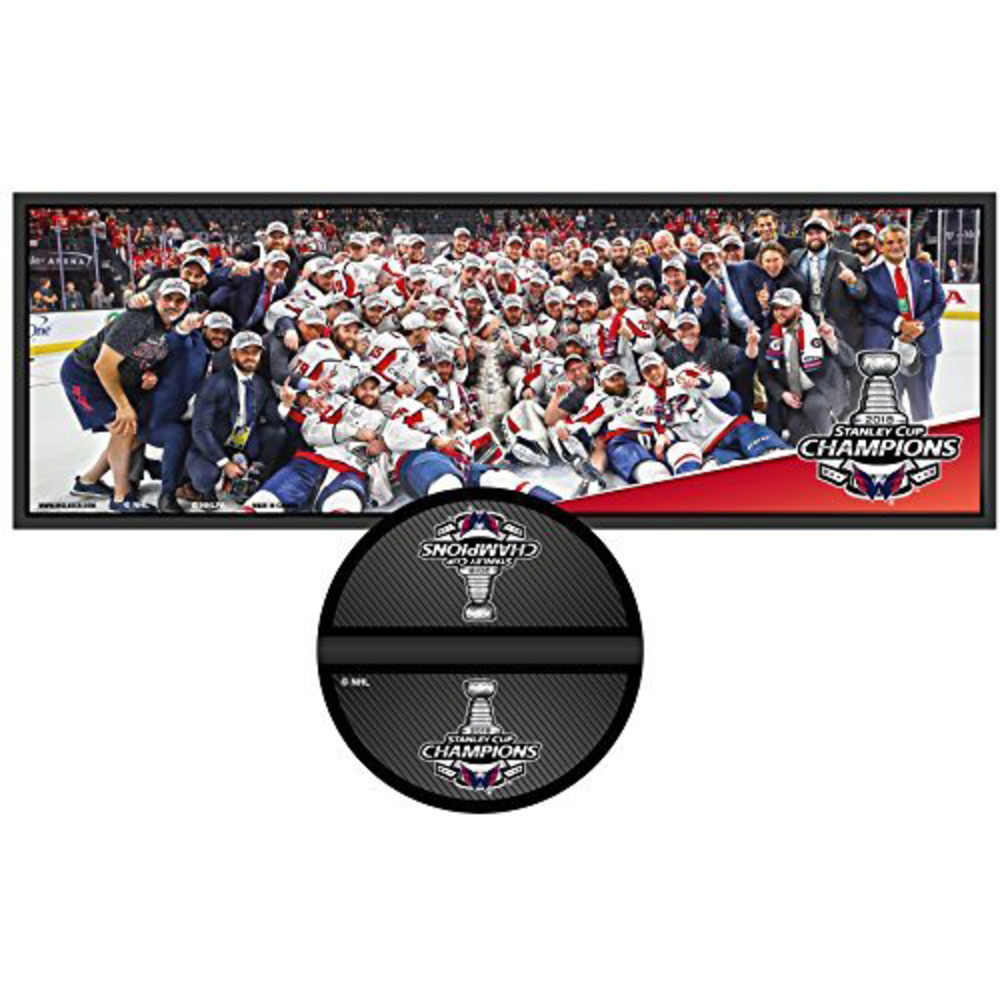 Washington Capitals 2018 Stanley Cup Champions Deco Plaque & Puck