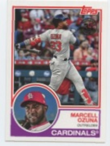 Photo of 2018 Topps Update '83 Topps #8310 Marcell Ozuna