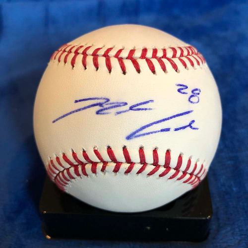 UMPS CARE AUCTION: Nolan Arenado Signed Baseball