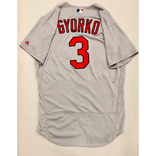 Photo of 2019 Mexico Series Game Used Jersey - Jedd Gyorko Size 44 (St. Louis Cardinals)