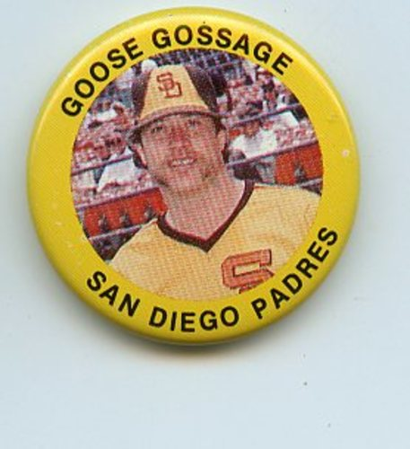 Photo of 1984 Fun Foods Pins #85 Goose Gossage