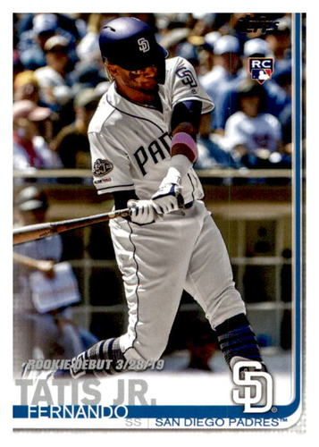 Photo of 2019 Topps Update #US56 Fernando Tatis Jr. Rookie Debut
