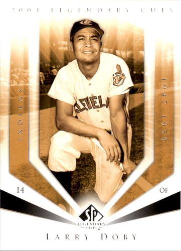 Photo of 2004 SP Legendary Cuts #70 Larry Doby