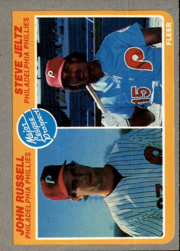 Photo of 1985 Fleer #653 John Russell RC/Steve Jeltz RC