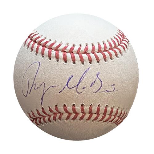 Photo of Autographed Baseball: Ryan McBroom