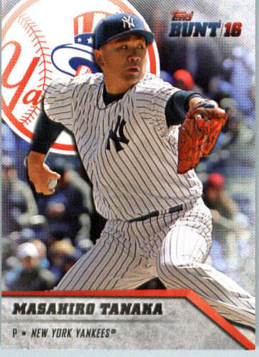 Photo of 2016 Topps Bunt #104 Masahiro Tanaka