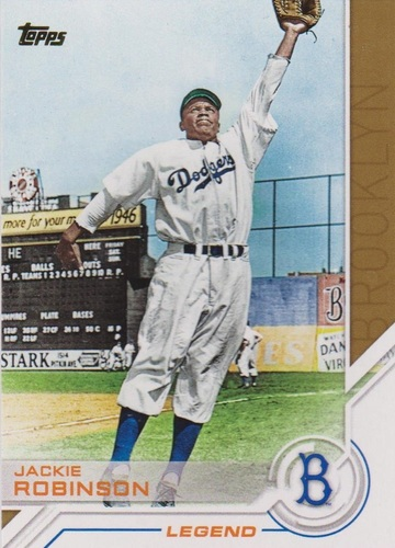Photo of 2017 Topps Salute #S39 Jackie Robinson