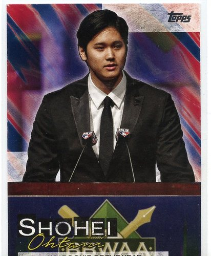 Photo of 2019 Topps Update Shohei Ohtani Highlights #SO17 Shohei Ohtani