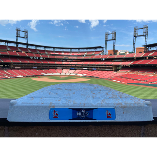 Photo of Cardinals Authentics: Game Used 1st Base Cardinals vs. Nationals Game 2 of NLCS *Innings 4-6*