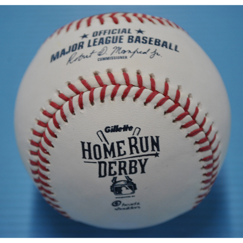 Game-Used Baseball - 2015 Home Run Derby - Prince Fielder - Round 1, Out