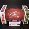 Panthers - Kawann Short Signed Authentic Football