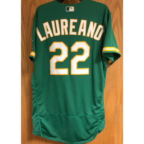 Photo of Game-used 2020 Jersey - Ramon Laureano (HR #3, Career #32)