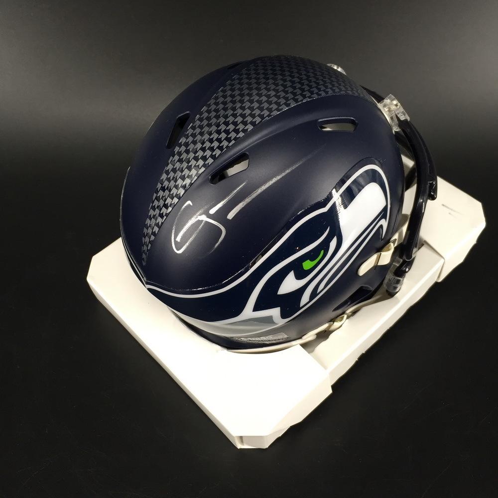 NFL - Seahawks Gary Jennings Jr. Signed Mini Helmet