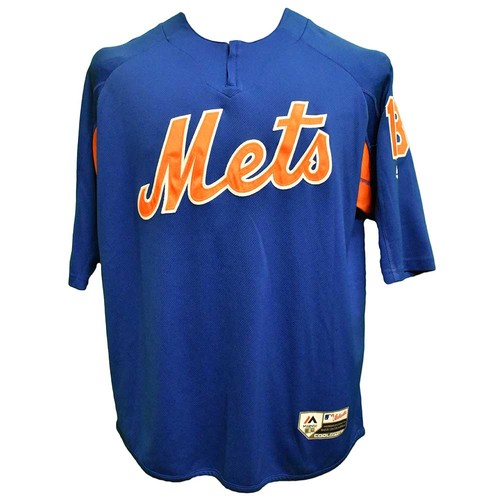 Photo of Travis d'Arnaud #18 - Team Issued BP Pullover Jersey - 2017 Season