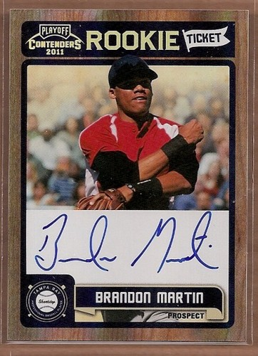 Photo of 2011 Playoff Contenders Rookie Ticket Autographs #RT44 Brandon Martin