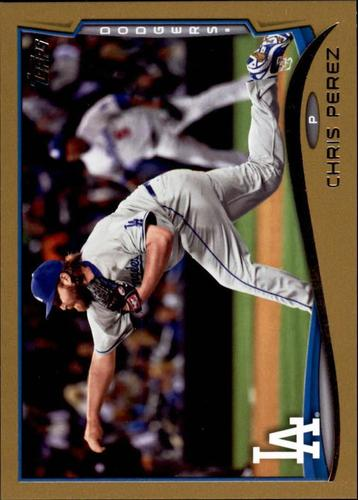 Photo of 2014 Topps Update Gold #US206 Chris Perez