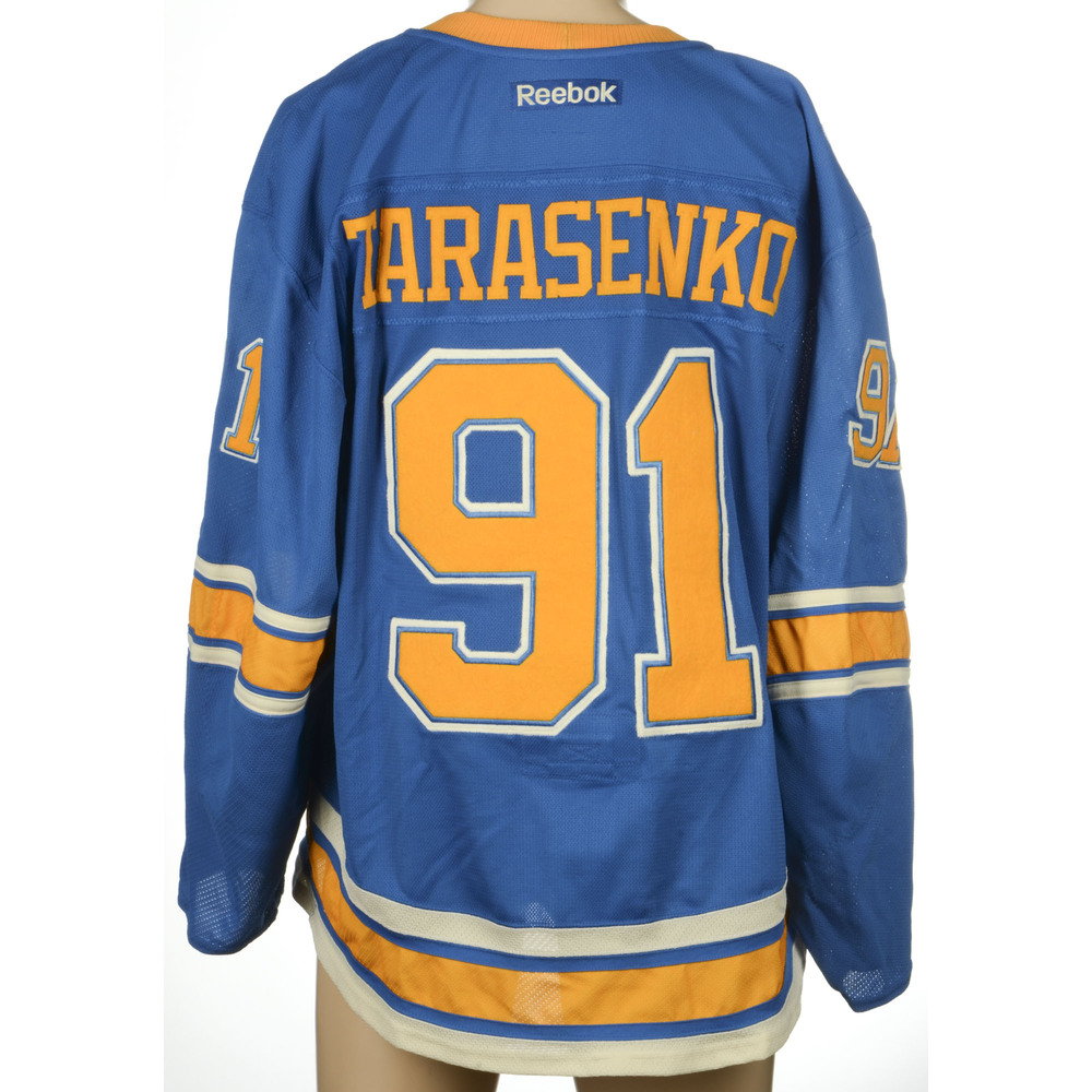 super popular 9e2c4 92d8e Classic Blues Nhl Winter Jersey implosion.danipett.com