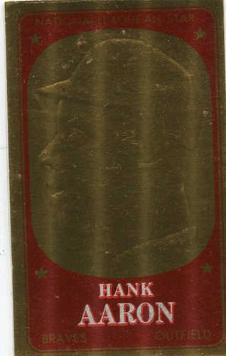 Photo of 1965 Topps Embossed #59 Hank Aaron