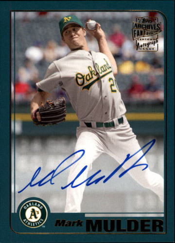 Photo of 2017 Topps Archives Fan Favorites Autographs #FFAMMU Mark Mulder