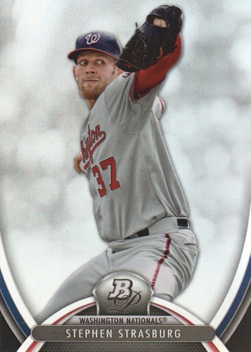 Photo of 2013 Bowman Platinum #40 Stephen Strasburg