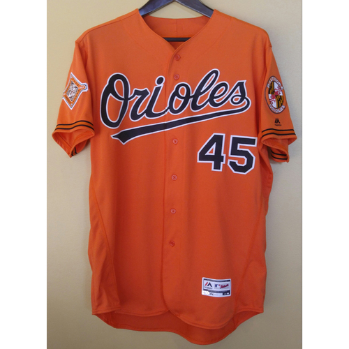 Photo of Mark Trumbo - Jersey: Game-Used