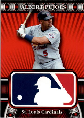 Photo of 2010 Topps Logoman HTA #1 Albert Pujols
