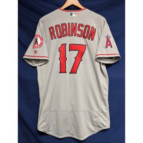 Photo of Shane Robinson Game-Used Road Jersey