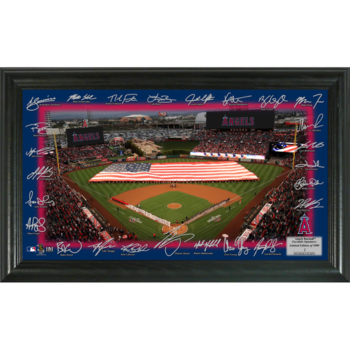 Photo of Serial #1! Los Angeles Angels 2018 Signature Field