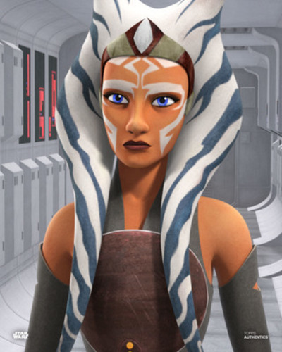 PREORDER Ashley Eckstein As Ahsoka Tano 8X10 Autogrpahed IN 'BLUE' INK PHOTO