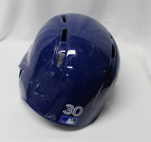 Photo of Authenticated Game Used Helmet - #30 Anthony Alford (September 21, 2018: 0-for-1). Size 7 1/2.
