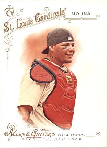 Photo of 2014 Topps Allen and Ginter #36 Yadier Molina