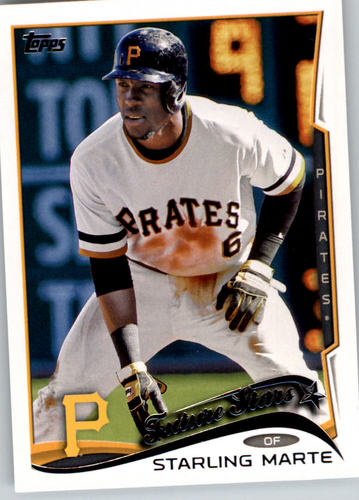 Photo of 2014 Topps #91 Starling Marte FS
