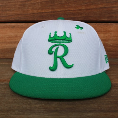Photo of Game-Used Saint Patrick's Day Cap: Terrance Gore (KC @ SF - 3/17/19 - Size 7 3/8)