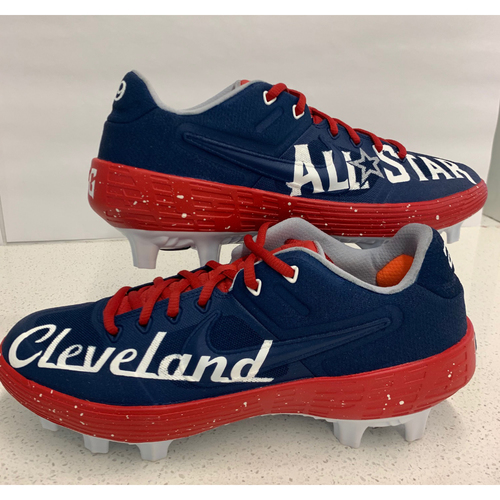 Photo of 2019 PLAYBALL PARK CUSTOMIZED KICKS - By Artist Roland Padron