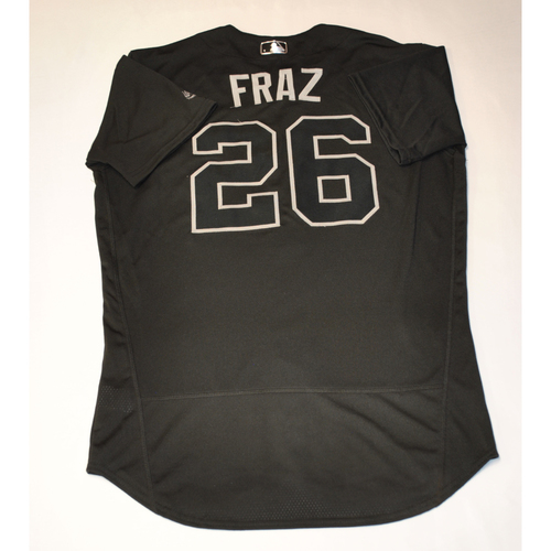 "Photo of Adam ""FRAZ"" Frazier Pittsburgh Pirates Game-Used 2019 Players' Weekend Jersey"