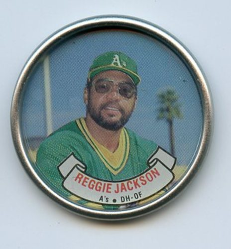 Photo of 1987 Topps Coins #15 Reggie Jackson