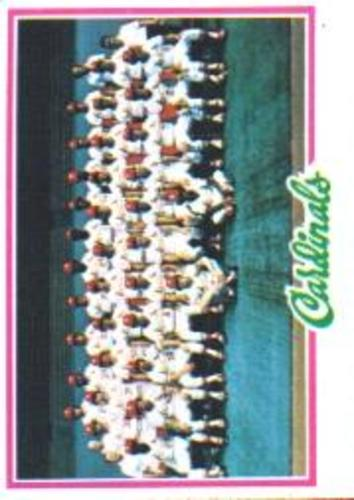 Photo of 1978 Topps #479 St. Louis Cardinals CL