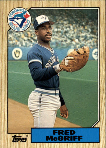 Photo of 1987 Topps Traded #74T Fred McGriff