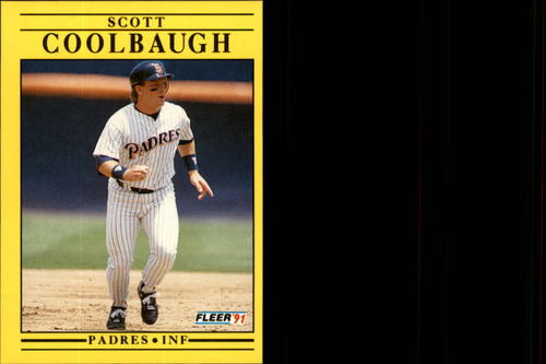 Photo of 1991 Fleer Update #122 Scott Coolbaugh