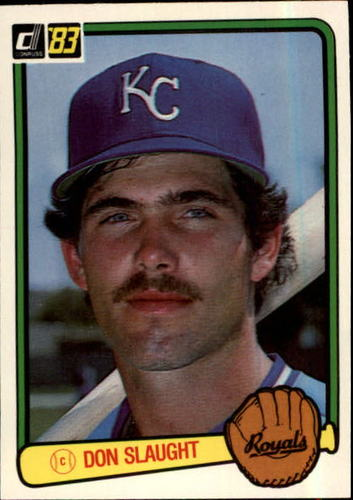 Photo of 1983 Donruss #196 Don Slaught RC