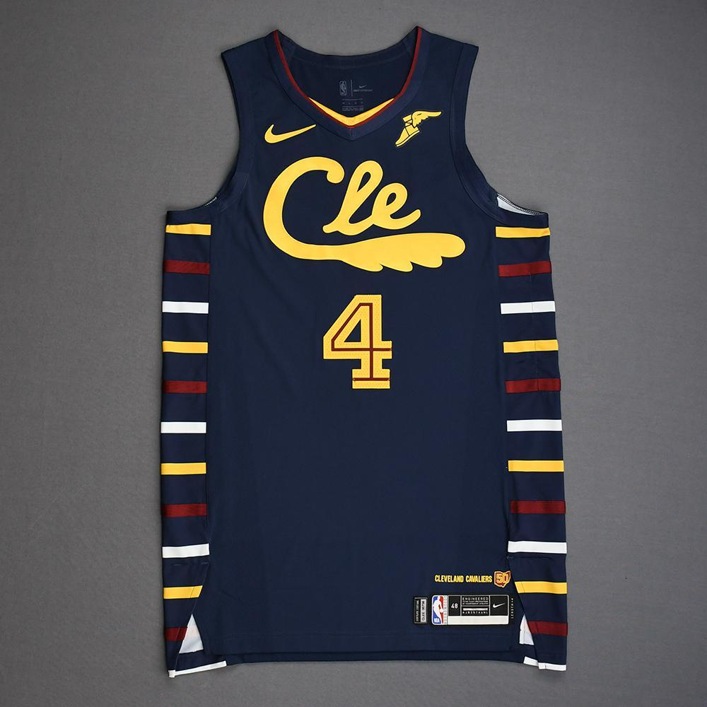 Kevin Porter Jr Cleveland Cavaliers Game Worn City Edition Jersey 2019 20 Season Nba Auctions