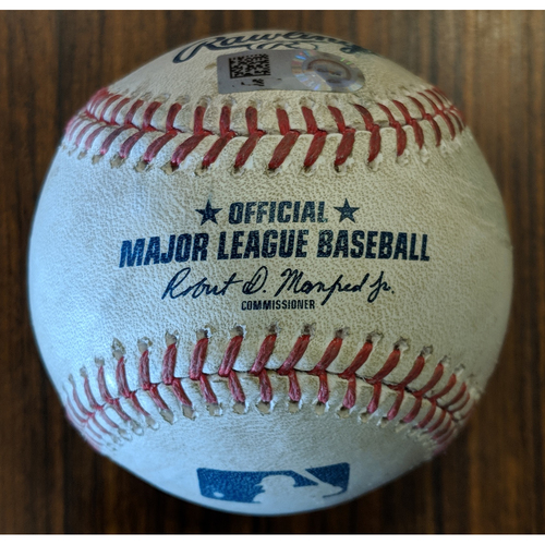 Photo of Todd Frazier - 2-RBI Double: Game-Used