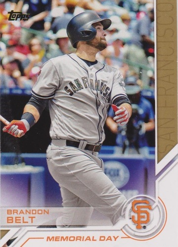 Photo of 2017 Topps Salute #S43 Brandon Belt